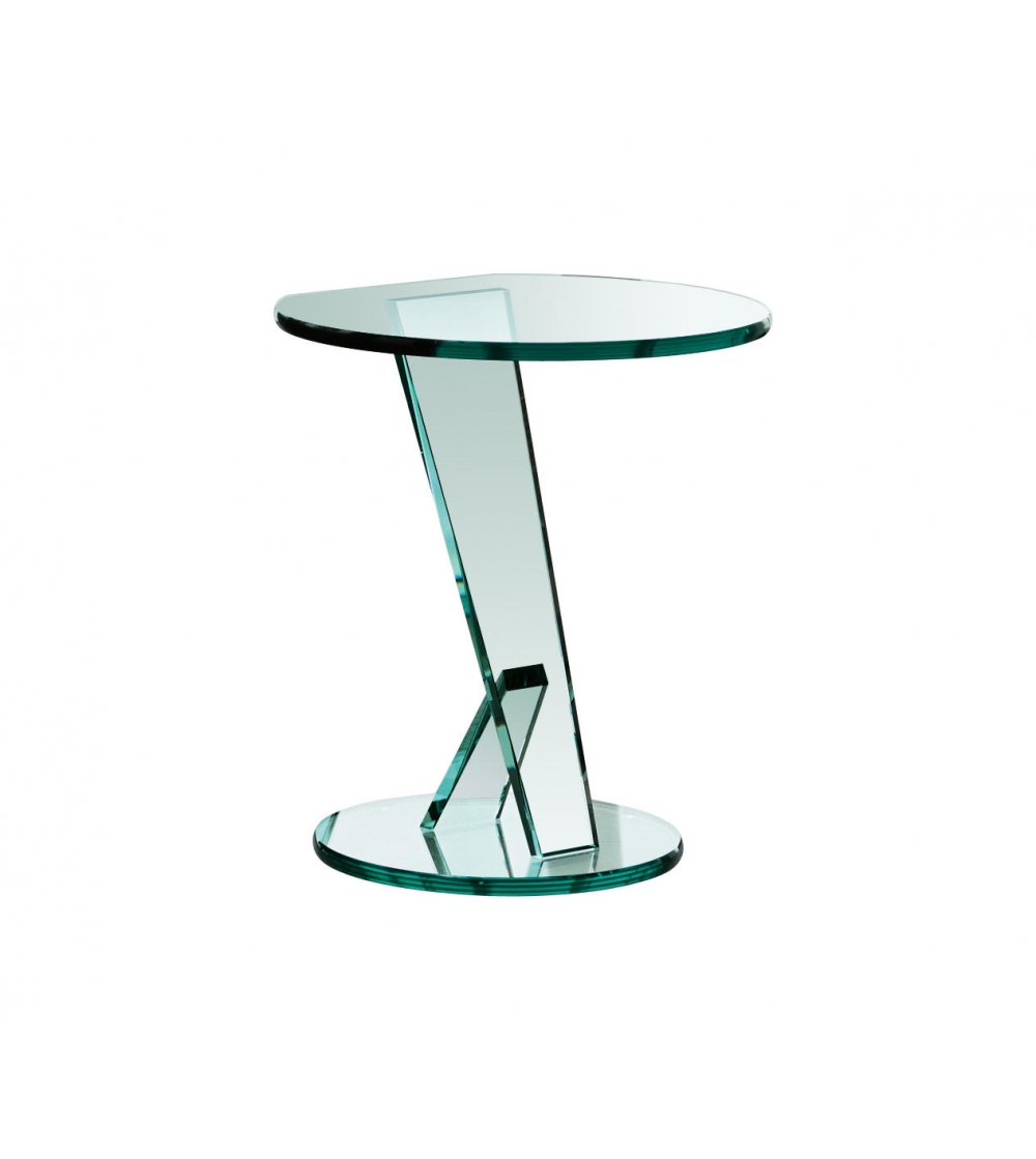 Table Basse Ronde En Verre Design Tonelli Design Table Basse Nicchio
