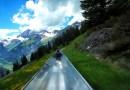 Видео: Спуск на Альпийском каботажном судне с горы.