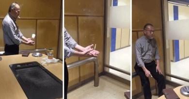 Этот японец и его фокусы действительно впечатляют. [Видео]