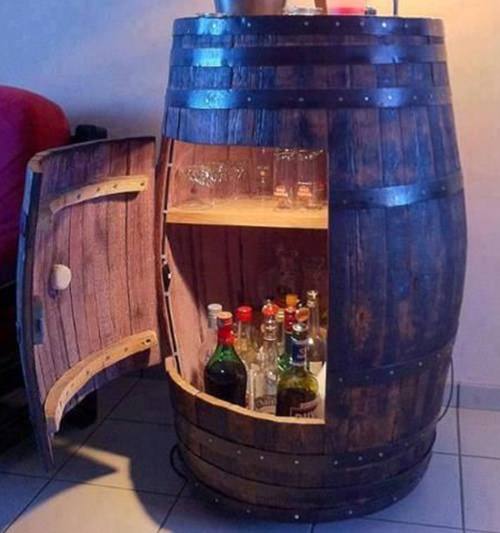 9 Liquor Storage Ideas For Small Spaces
