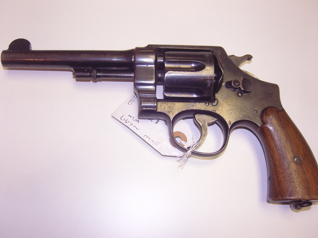 Calibre 45 Smith And Wesson Model 1917 Revolver 45 Caliber For Sale
