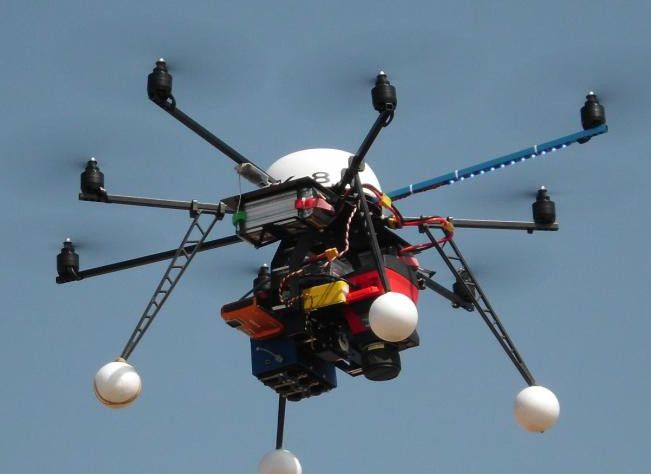 Funding for a new Octocopter (VoF) Australia - University of Melbourne (1/2)
