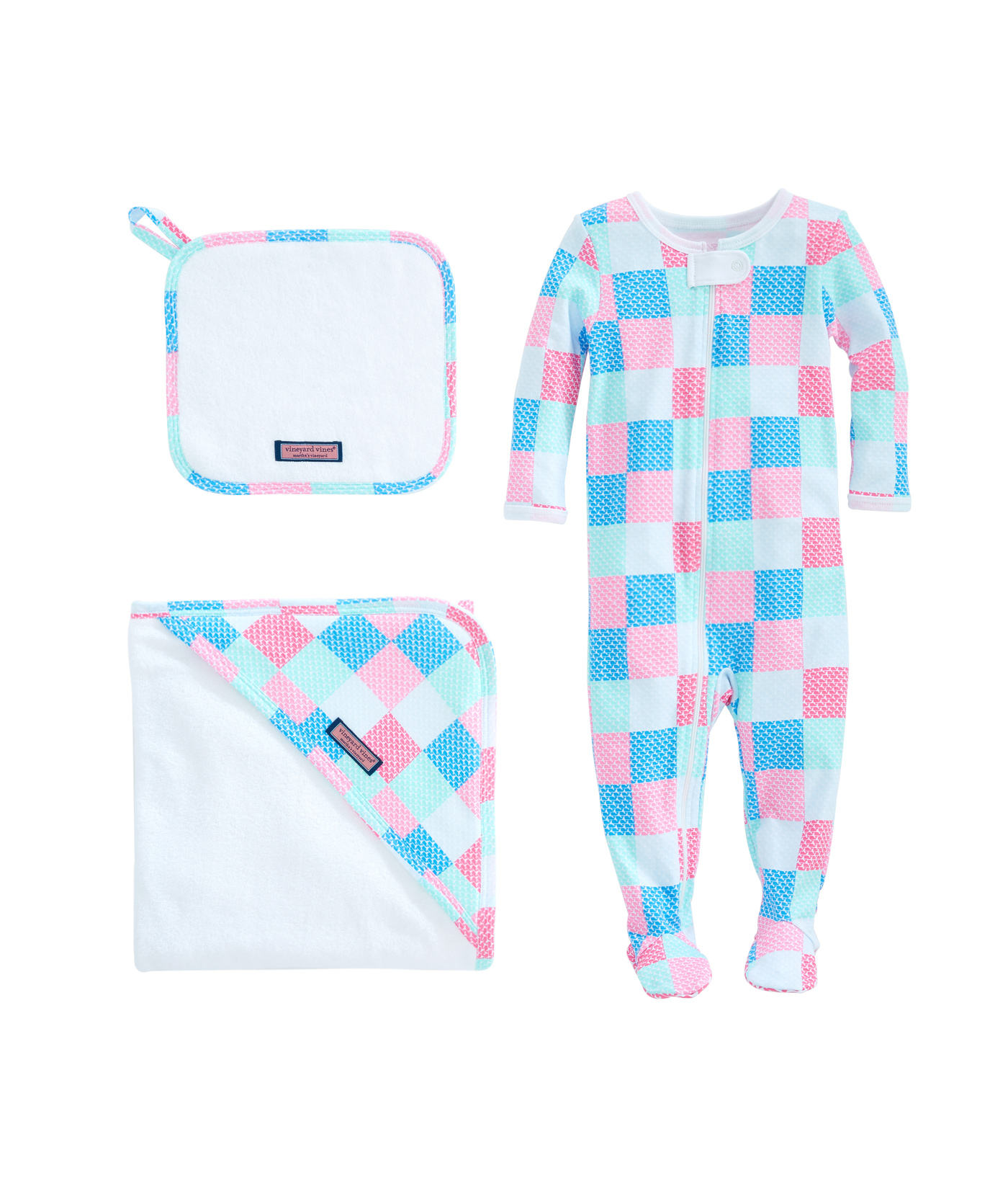 Patchwork Set Baby Baby Patchwork Bath To Bed Set