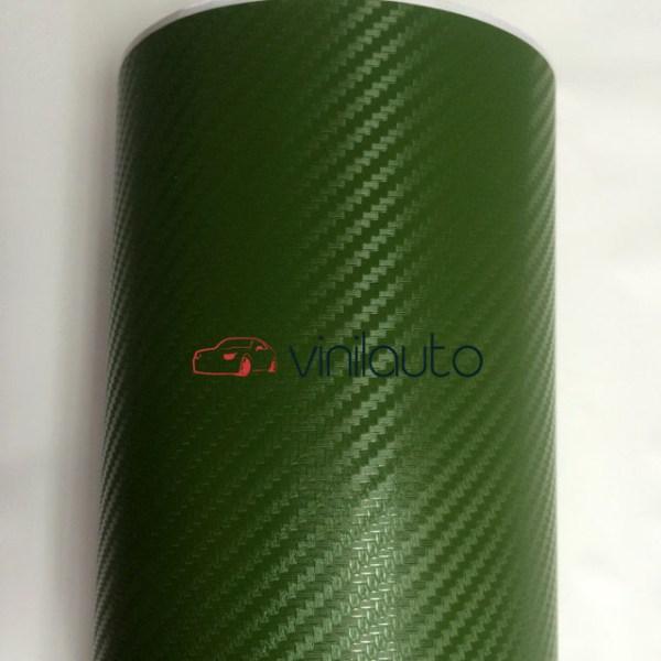 Темно-зеленый карбон TR1
