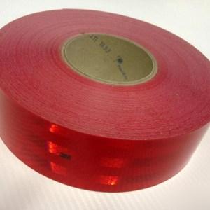 Светоотражающая лента 3М красная