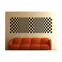 Optical illusion wall decal | Vinyl and Decoration