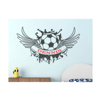 Soccer wall decals | Custom sports stickers