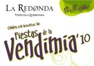La primer vendimia del 2010: Viñedos La Redonda