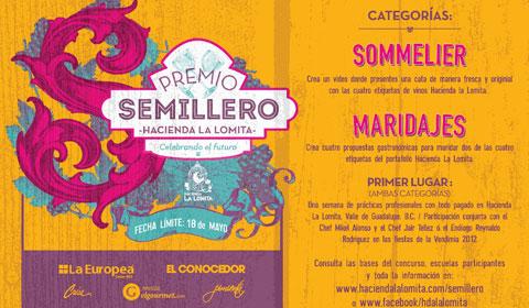 Apuestan por crear semillero de cultura enológica y gastronómica Mexicana.