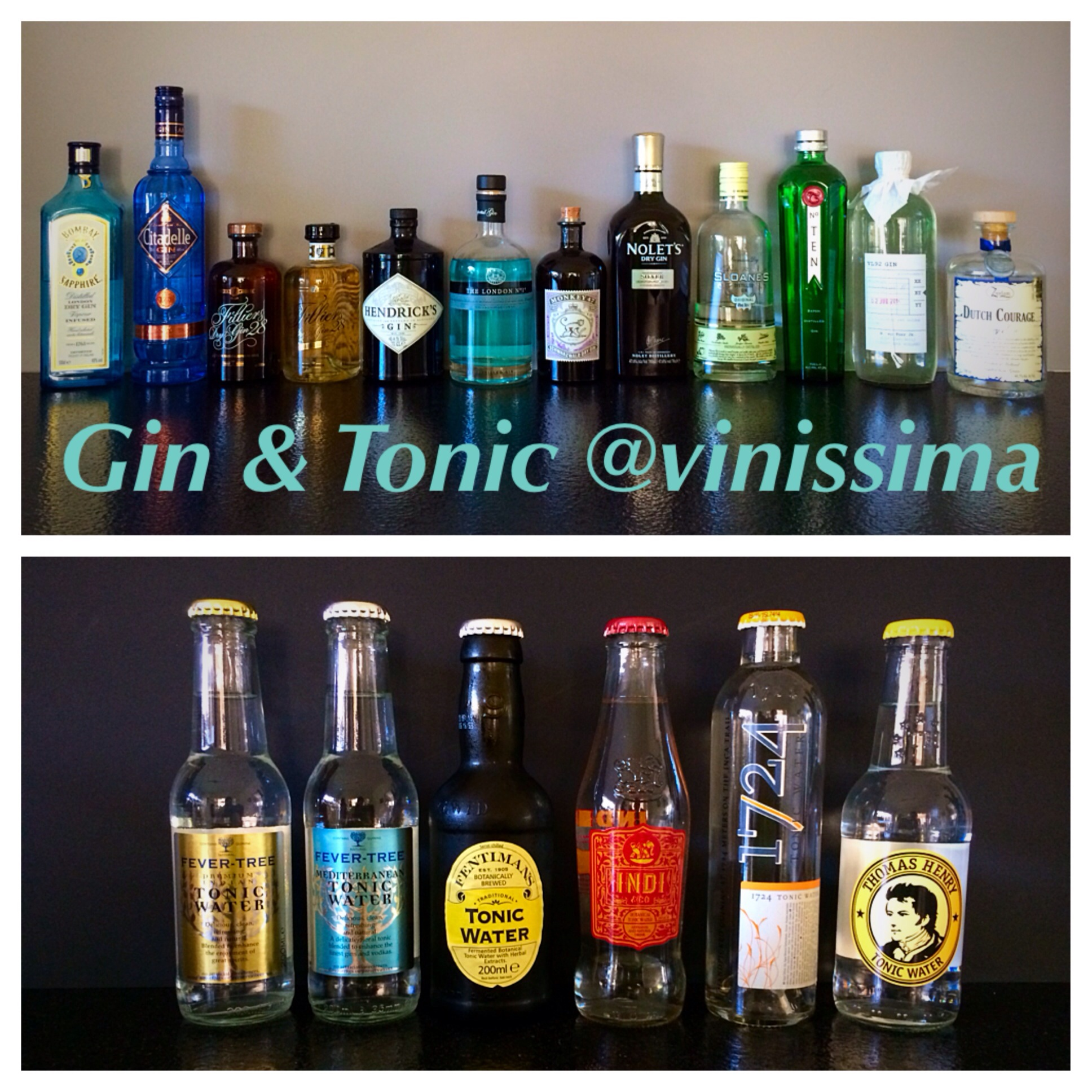 Soorten Tonic Gin And Tonic Vinissima