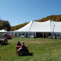 Festival Grounds, 2nd Annual Vermont Life Wine & Harvest Festival