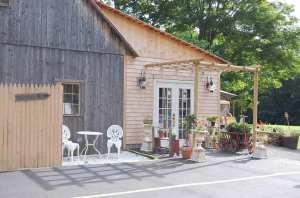 Heritage Trail Vineyards Cafe, Lisbon, CT / Photo: Marguerite Barrett
