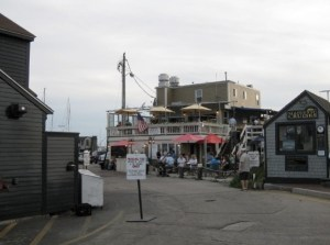 The Landing Restaurant, Bowen's Wharf.  Photo Courtesy of Christy Sherard