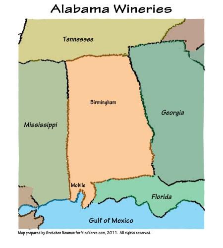 Alabama Wineries