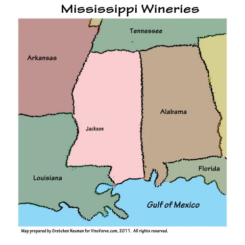 Mississippi Wineries