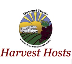 Harvest Hosts logo from program website (www.harvesthosts.com)
