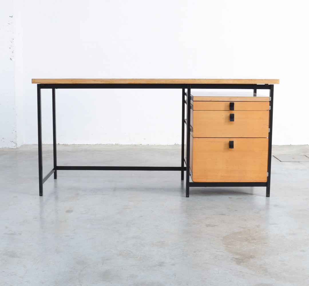 Mobiler Design Desk By Jules Wabbes For Mobilier Universel Vintage Design Point