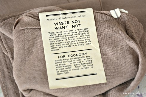 Waste Not Want Not Label CC41