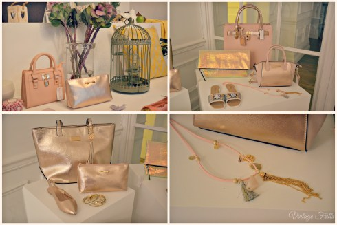 Matalan s15 Press Day Rose Gold Bags and Accessories