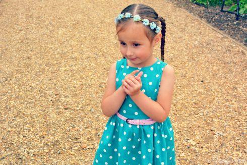 Lila in Lindy Bop  Lindy Bop Kids  Vintage Frills