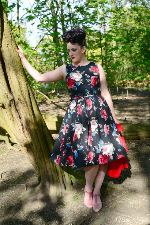 Dolly and Dotty Cape and Dress Review