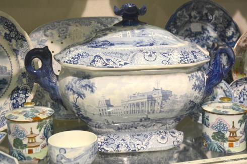 Olympia Art and Antiques Fair Blue and White China