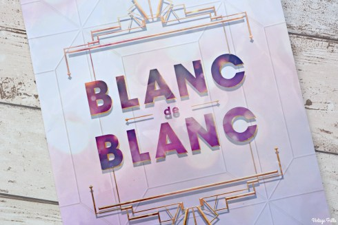 Blanc De Blanc Programme Cover