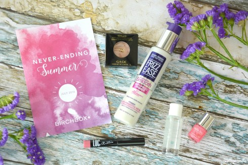 May 2016 Birchbox Contents