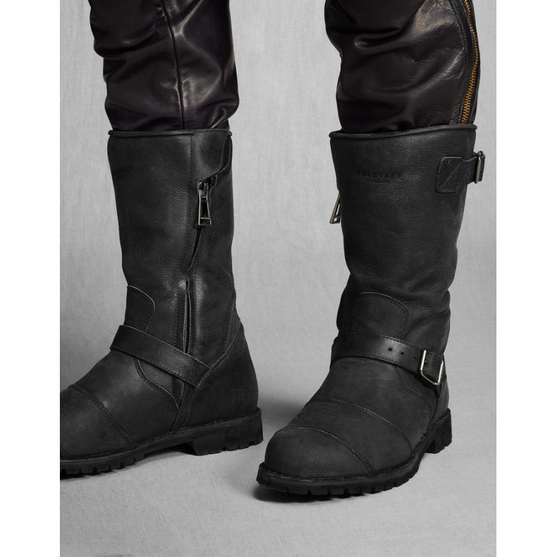 Intercom Moto Bottes Belstaff Endurance, Demi-botte Belstaff