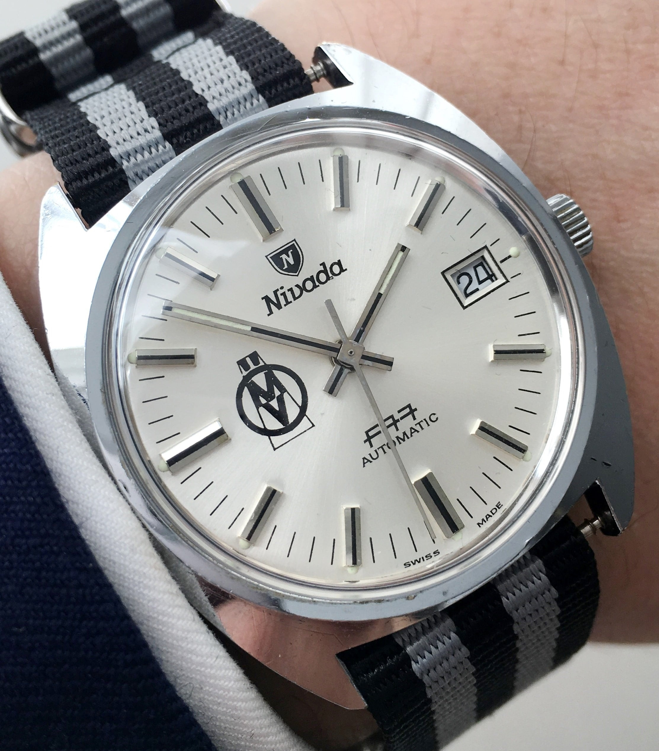 Uhr Vintage Nivada Automatic Watch Bargain