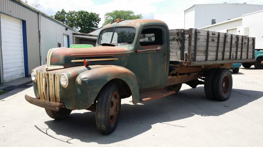 1941 ford grain truck