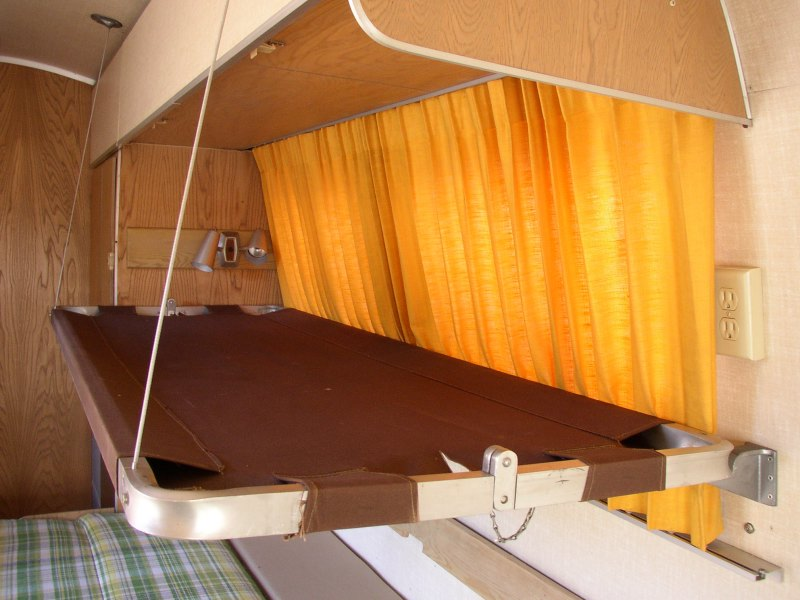 Double Bed Frame Bunkbeds - Vintage Airstream