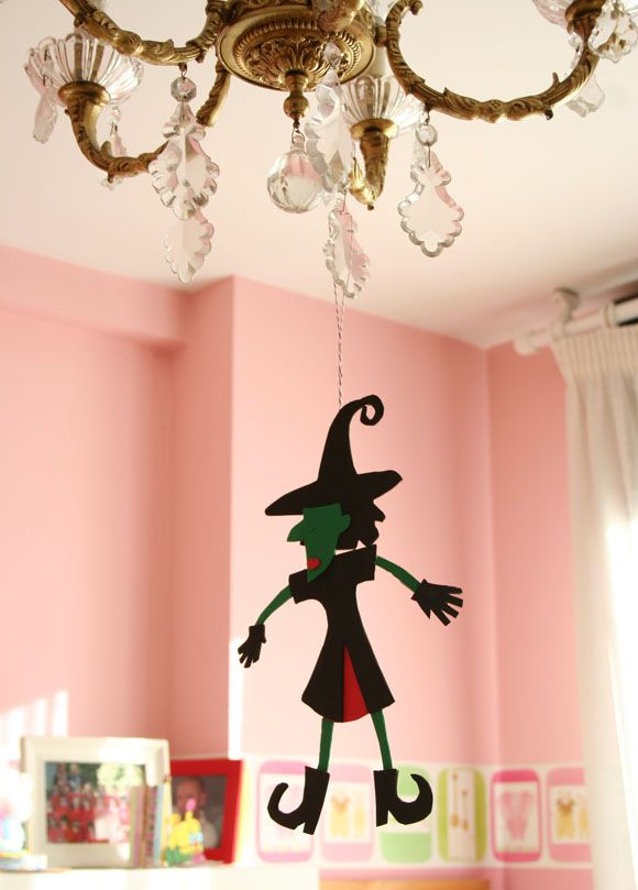 Salones Vintage-chic Manualidades Con Niños Para Halloween · Some Craft Ideas