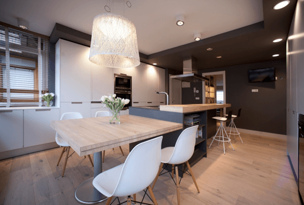 Salones Vintage-chic Un Gran Piso En Bilbao · A Great Apartment In Bilbao