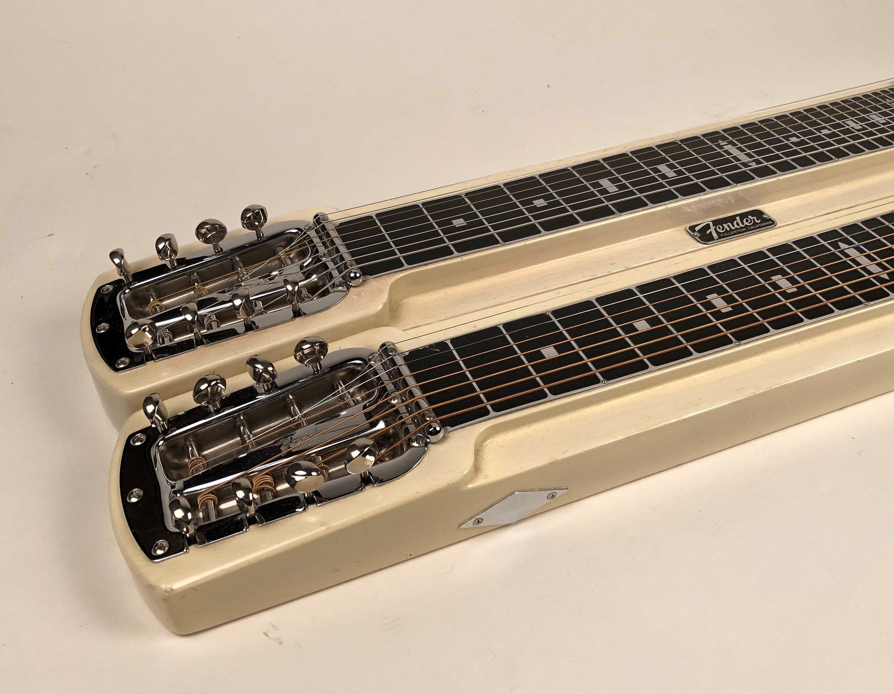Double Neck Vs Single Neck Guitar Fender Stringmaster Double 8 1957 Blond Guitar For Sale