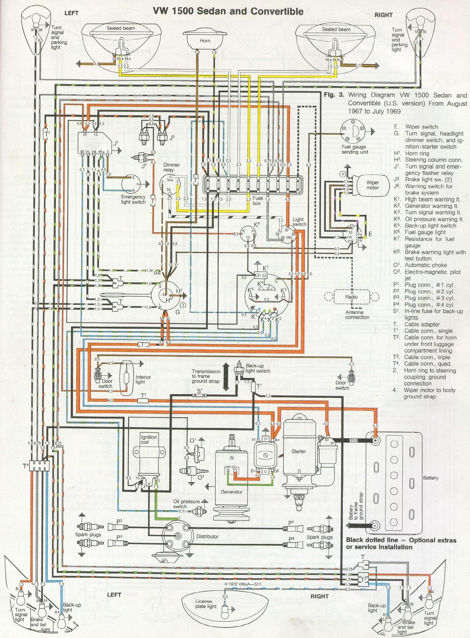 1975 maverick del Schaltplan