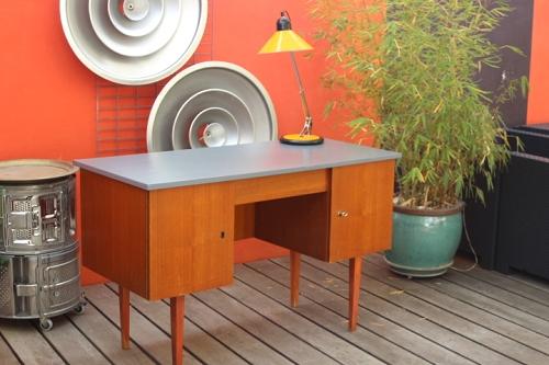 Ancien vestiaire industriel 3 portes 1960 vintage by Design scandinave histoire