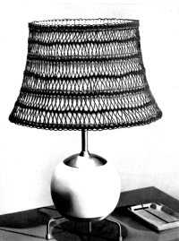 Free Crochet Pattern Lamp Shade Cover ~ Dancox for