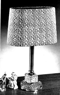 crocheted lamp shade patterns Archives - Vintage Crafts ...