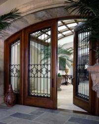 Beautiful front entry doors | Vintage Doors
