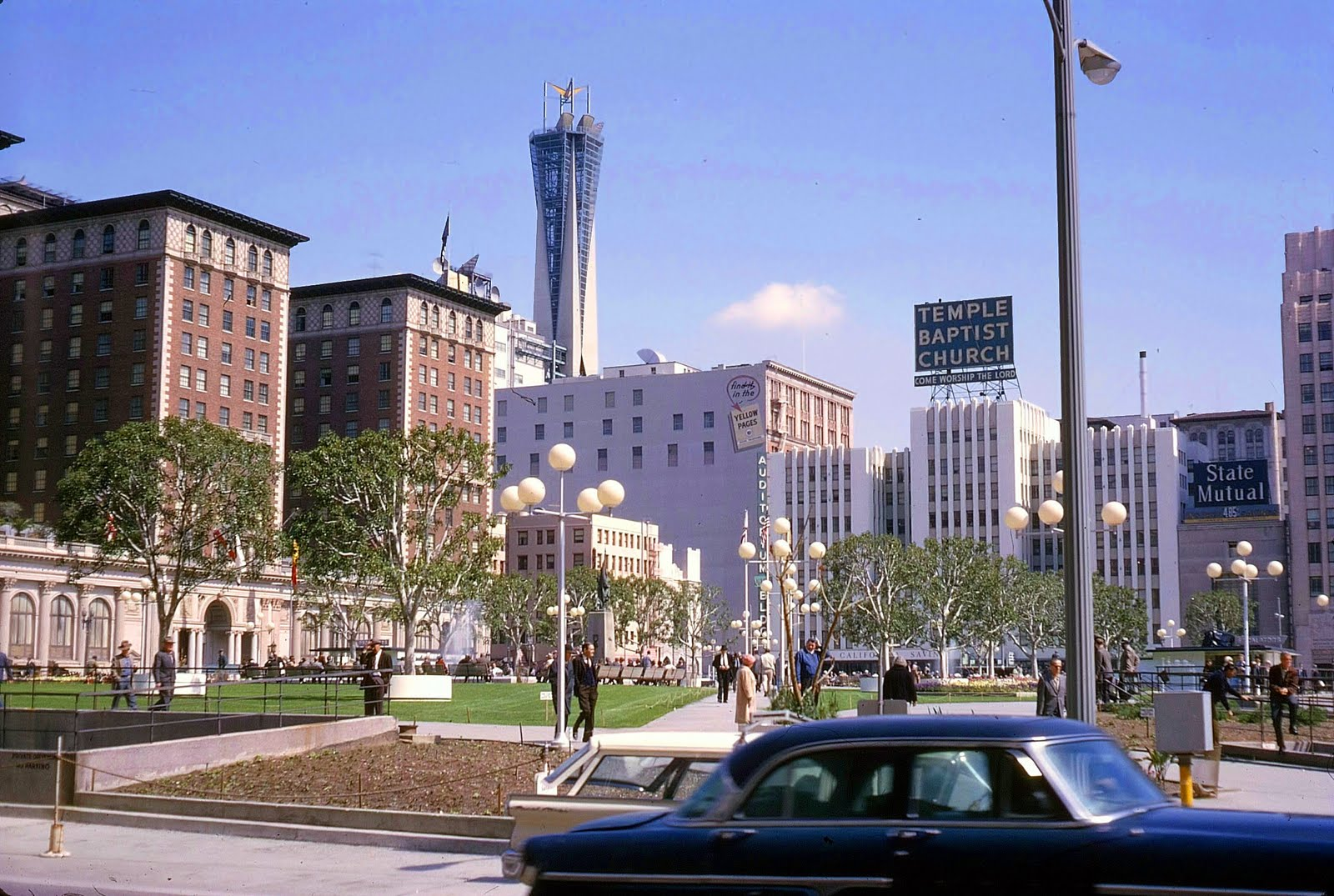 los angeles in the 1940s 1950s 1960s and 1970s
