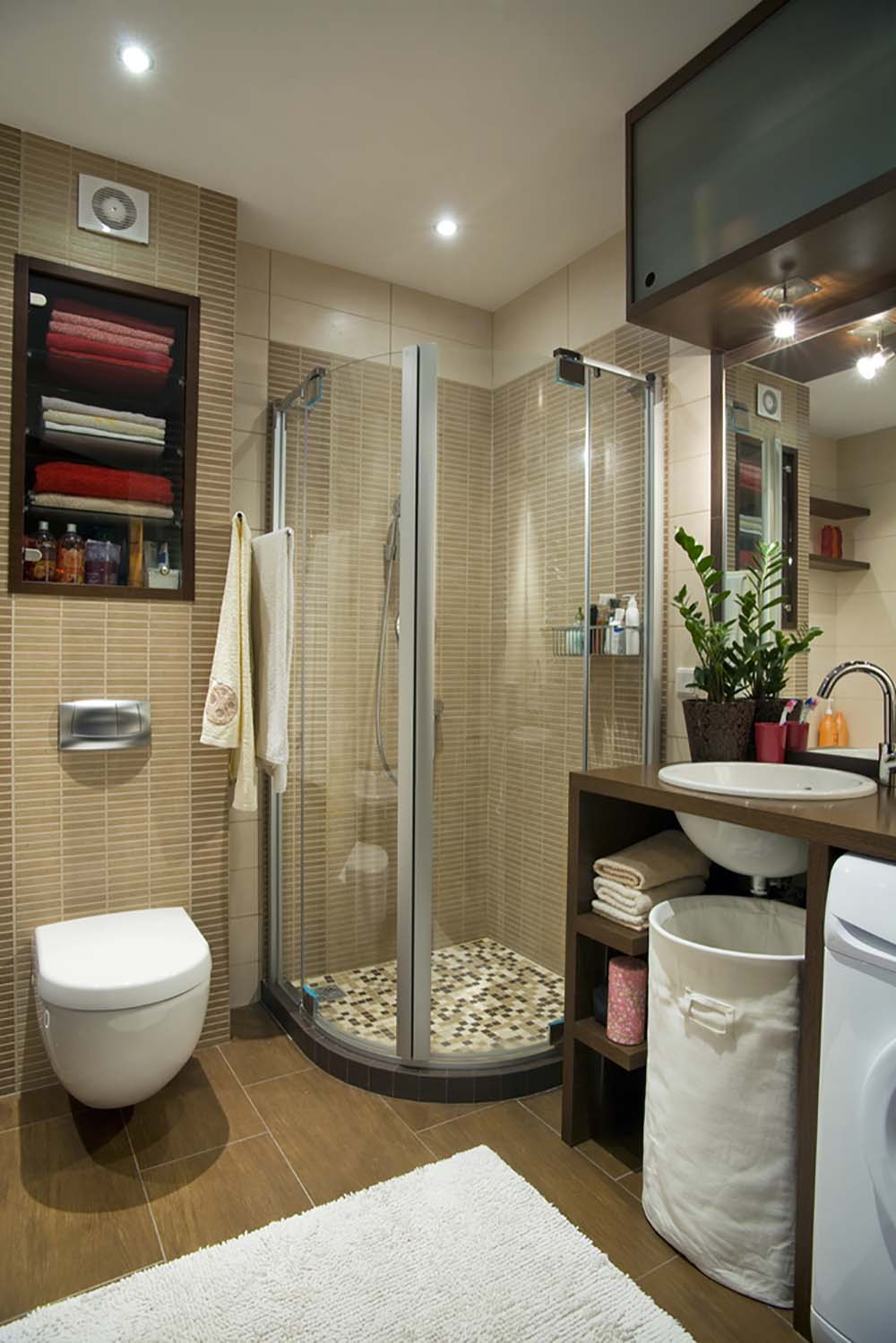 Cuartos De Baño Con Estilo 51 Beautiful And Functional Small Bathrooms