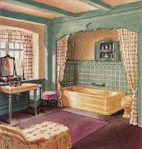 1930s Interiors Weren't All Black, Gold and Drama