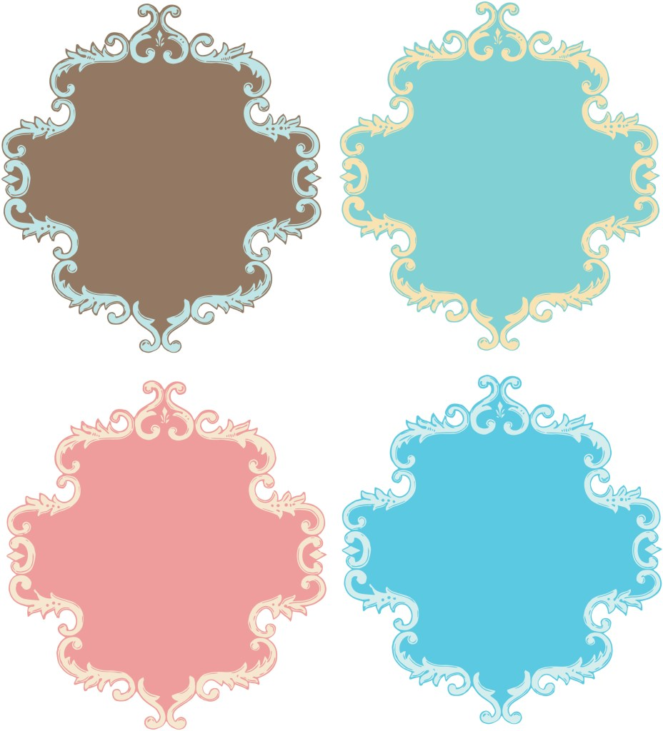 free clipart ornate frames - photo #38