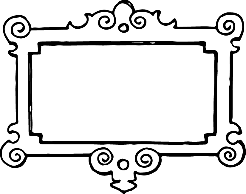 Free Clip Art Vintage Frame Oh So Nifty Vintage Graphics