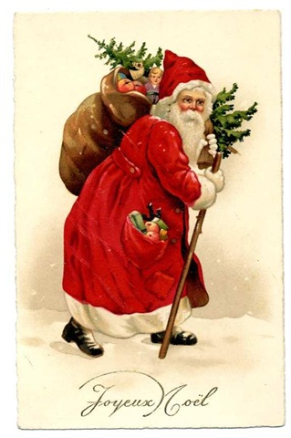 Free Vintage Santa Claus Christmas Cards - Vintage Holiday Crafts