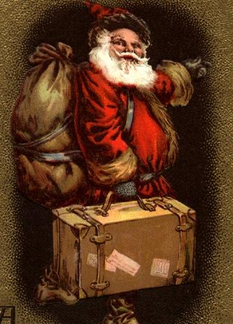 Free Vintage Santa Clip Art - Vintage Holiday Crafts
