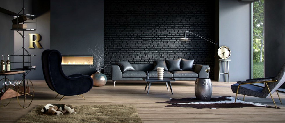 Lighting Ideas for your Industrial living room - industrial living room ideas