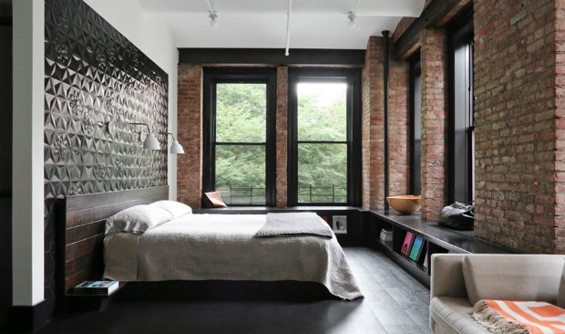 Ace Design Badkamer Bringing New York Loft Style Into The Bedroom