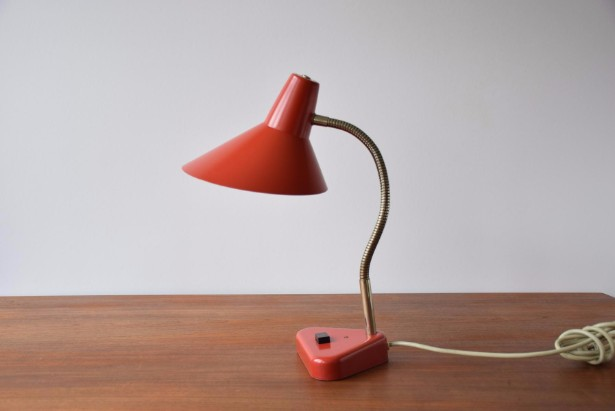 Unique red lamps for your living room